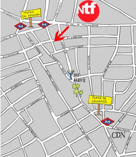 mapa NTF